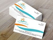 Travel Agency Business Cards