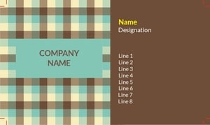 Textile Visiting Card 2