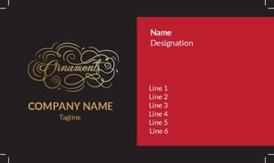 Jewellery Visiting Card 17