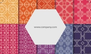 Textile Visiting Card 10
