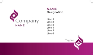 Jewellery Visiting Card 1