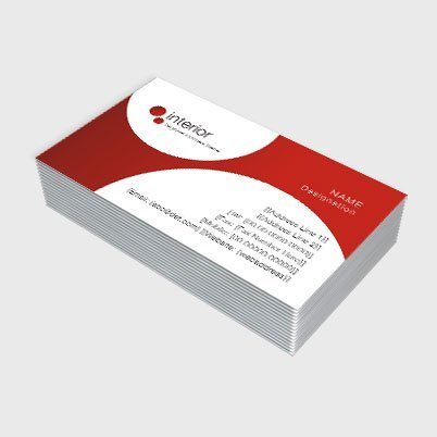 Print high quality custom double sided business cards at best price visiting cards single sided reheart Gallery