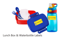 Lunch Box & Waterbottle Labels-Thumb
