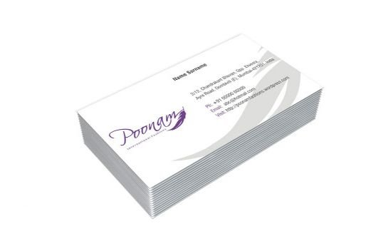 1 Sided Visiting Card Model