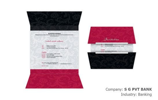 Online Invitation Card Design for Events Weddings and Birthdays