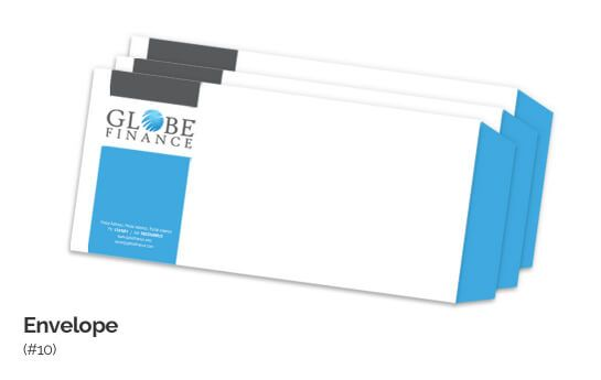 Size #10 Envelope Design