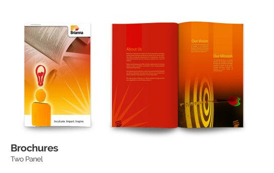brochure printing online start 33rs with free premium design templates