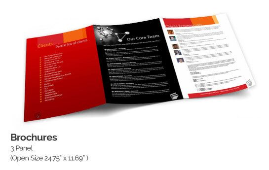 Online Brochure Printing Designs With Quality Brochure Templates - Online brochure template