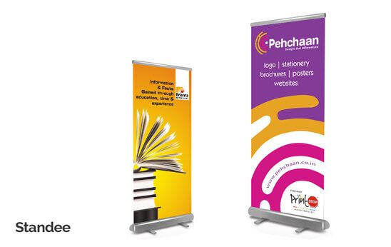 Banner Display Stand
