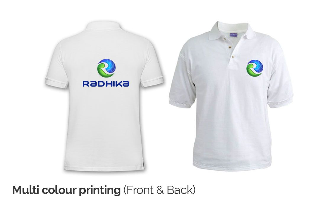 Custom multicoloured t shirt printing online india for T shirt designing and printing