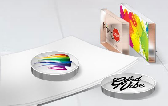 Customize Acrylic paperweight